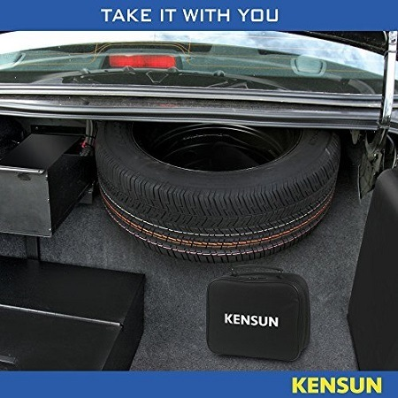 Kensun AC/DC Tire Inflator In Car